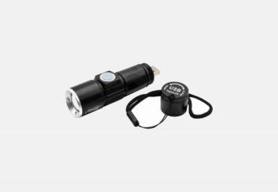 Lampe de poche à zoom LED