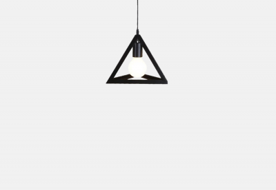 Triángulo 3D Lamp
