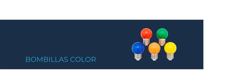 Bombillas color