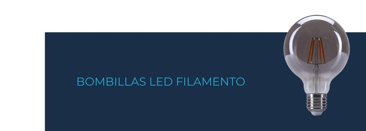 Bombillas led filamento